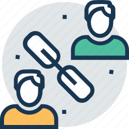colleague, concern, link, partnership, team icon