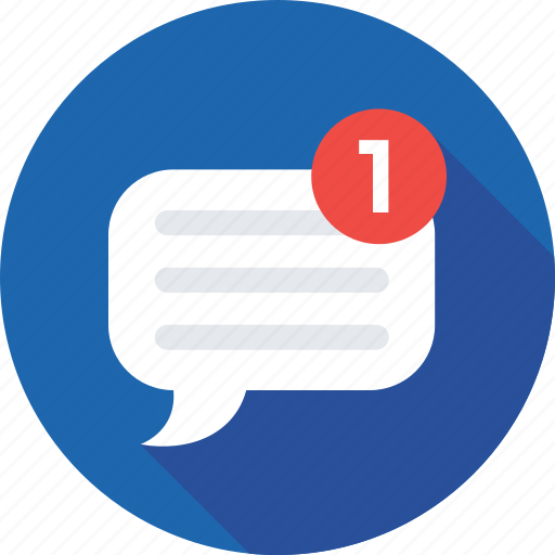 chat bubble, chat messenger, chatting, new message, sms icon