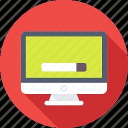 browsing, google, internet, monitor, web search icon