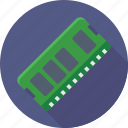 computer hardware, computer ram, memory, ram, storage icon