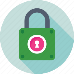 access, lock, padlock, password, protection icon
