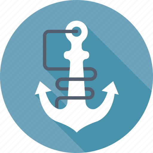 anchor, boat anchor, marine, nautical, sea icon