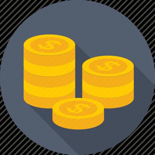 coin, dollar, finance, money, usd icon