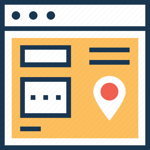 local seo, location, map pin, seo, webpage icon