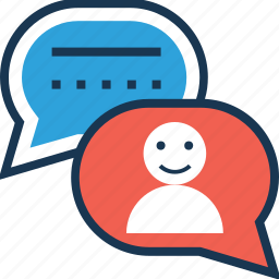 chat bubble, chatting, comment, customer feedback, feedback icon