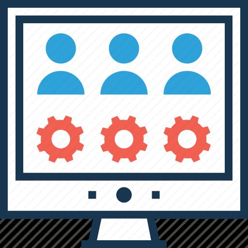 configure, preferences, setup, testing, user testing icon