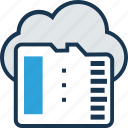 cloud, cloud computing, cloud storage, floppy, memory icon