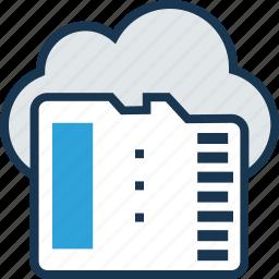 cloud, cloud computing, cloud storage, floppy, memory icon
