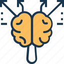 brain, brainstorming, creative mind, creativity, inspiration icon