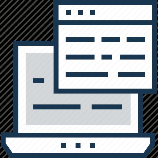 coding, development, php, script, web icon