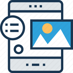 app layout, content design, design, smartphone, web layout icon