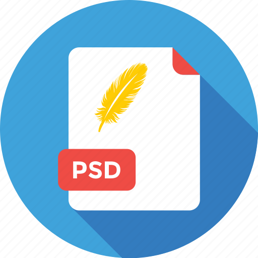 extension, file, file type, photoshop, psd icon