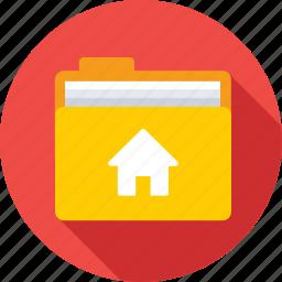 directory, folder, home, main folder, root folder icon