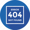 error 404, error page, http error, server error, web icon