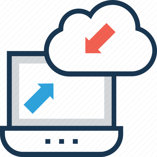 cloud sync, computing, refresh, synchronize, update icon