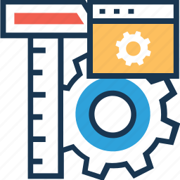 cog, development, preferences, setting, web icon