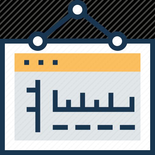 board, dashboard, hanging, info board, sign icon