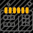 web, calendar, development, schedule