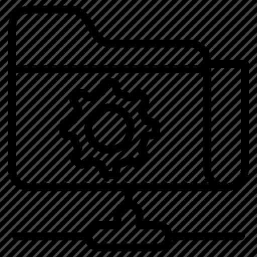 folder setting, ftp configuration, ftp maintenance, ftp management, ftp setting icon