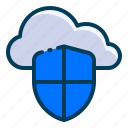 cloud, data, design, development, lock, security, web