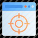 aim, audience, design, development, goal, target, web