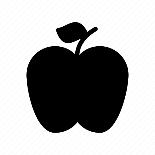 apple, eat, food, fruit, health icon