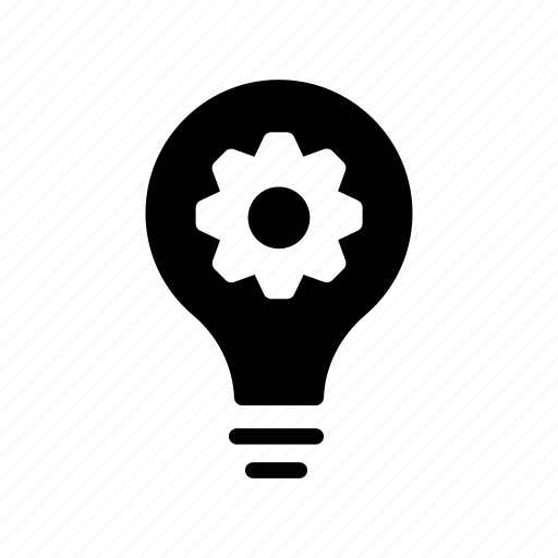 bulb, creativity, idea, preference, setting icon