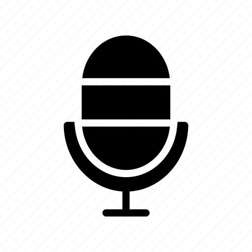 audio, microphone, mike, recording, voice icon