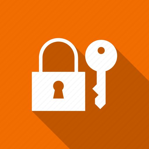 access, key, lock, password icon