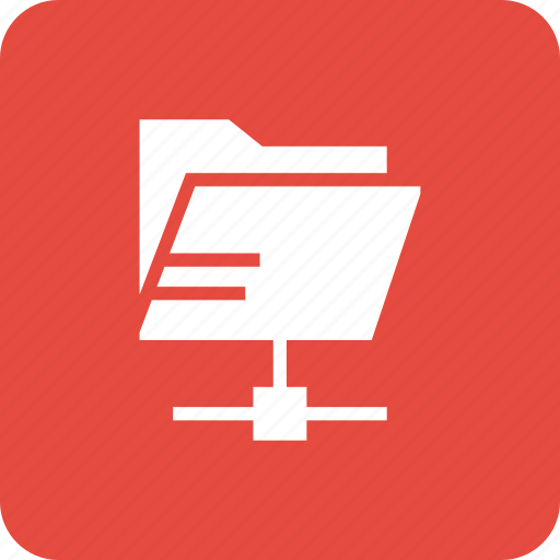 folder, share, shared icon