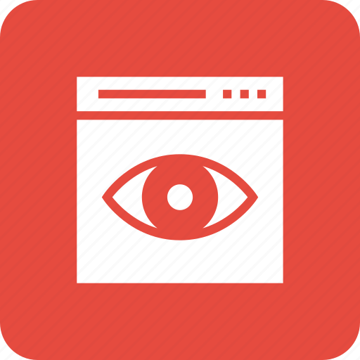 network, search, view, webpage, website icon