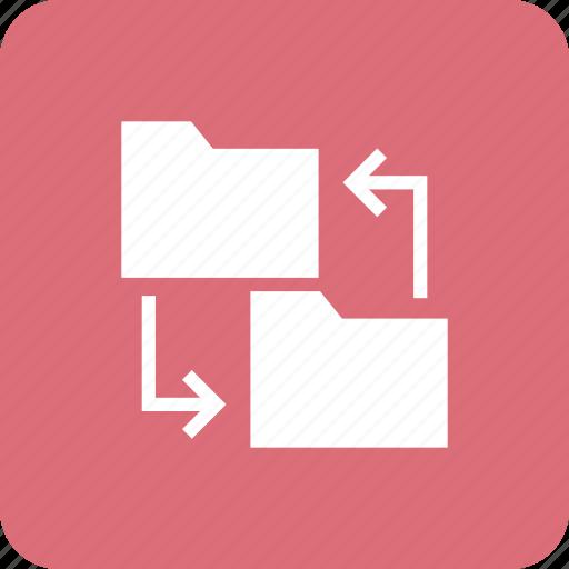 album, binder, blue, folder, portfolio, record, share icon