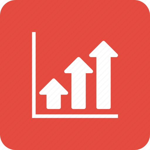 analytics, chart, finance, graph, growth, sales, stock icon