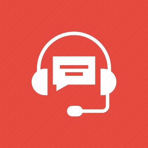 bubble, chat, customer, headphone, representative, service icon