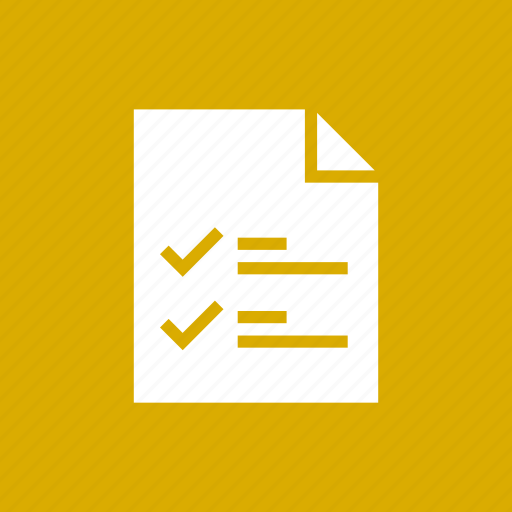 Check, document, file, list, mark, page icon - Download on Iconfinder