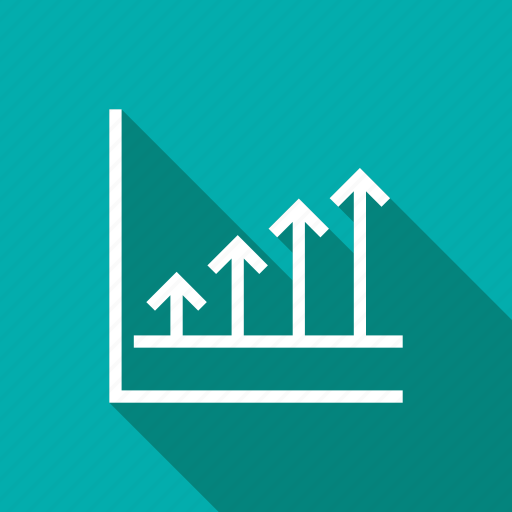 chart, finance, graph, growth, revenue, sales, stock icon