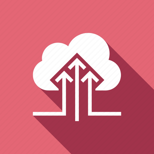 cloud, computing, data, transfer, upload icon