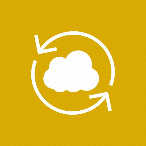 cloud, refresh, reload, storage, sync icon