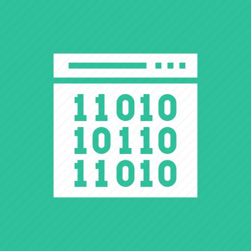 code, coding, html, programming, web icon