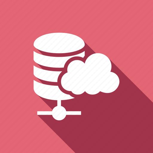cloud, hosting, server, services, web icon