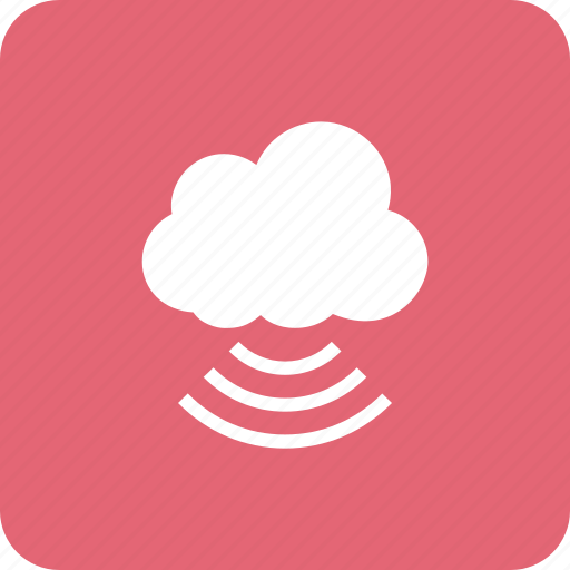 cloud, connection, internet, wifi, wireless icon
