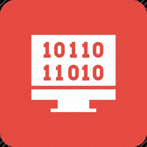 code, coding, html, monitor, programming, web icon