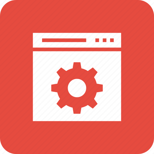 cog, preferences, setting, web, webpage, website icon