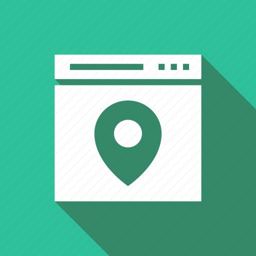 design, location, navigate, page, seo, web, wordpress icon