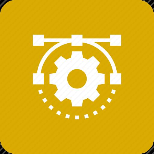 configuration, design, gear, options, part, preferences, seo icon