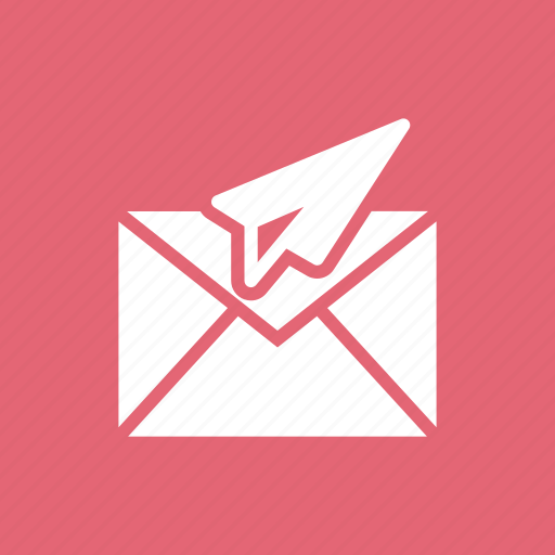 email, letter, mail, message, paperplane, plane, send icon