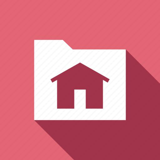 document, folder, home, house icon