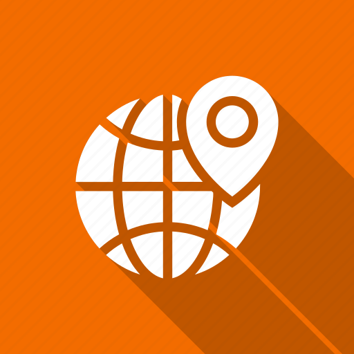 global, globe, location, world icon