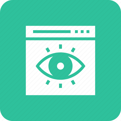 document, page, paper, search, view, web icon