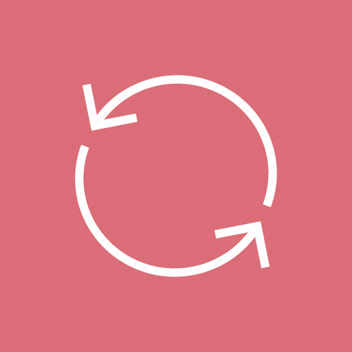 graph, initializing, pie, refresh, reload, sync icon